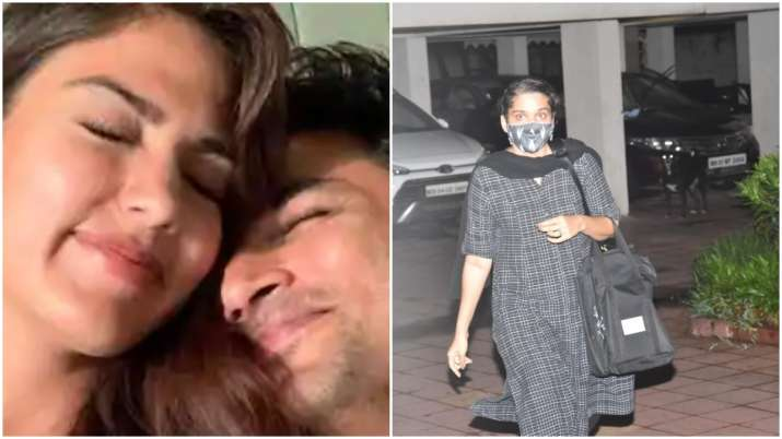 Rhea Chakraborty's lawyer arrives at her home after Sushant Singh Rajput's father files FIR against