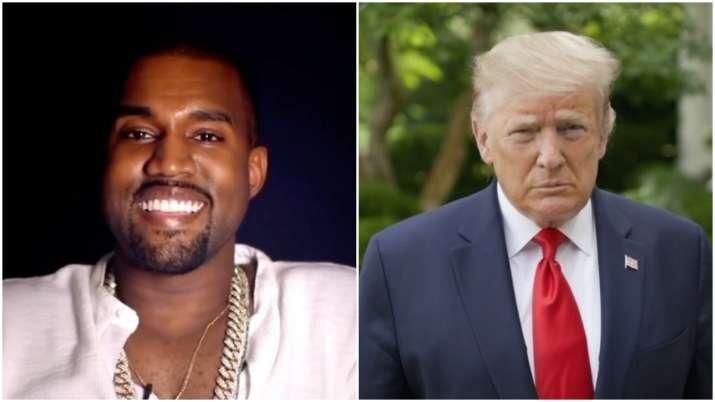 kanye west vs donald trump US president election 2020