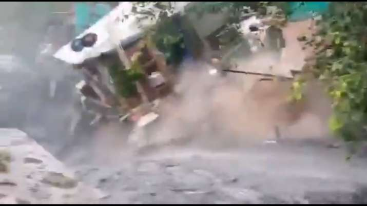 2-storey house collapses, washed away at Delhi's ITO during heavy rainfall