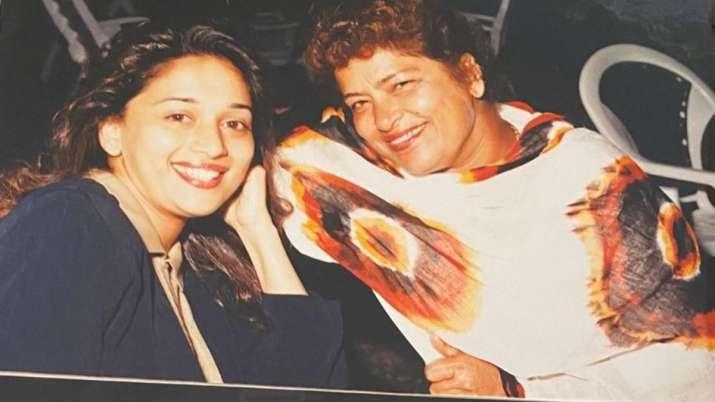 Madhuri Dixit recalls working with late choreographer Saroj Khan in Devdas