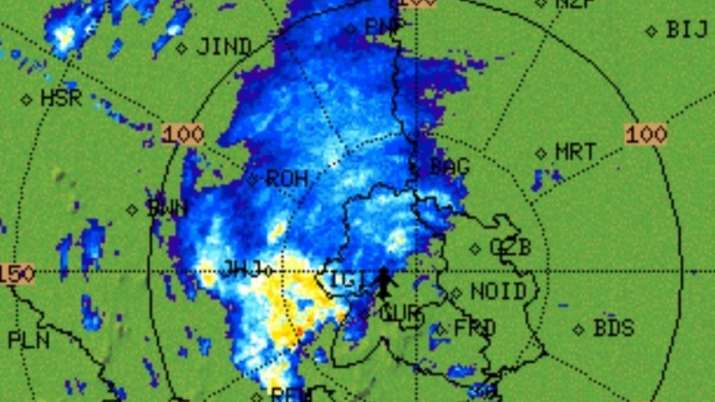IMD predicts moderate rain possible over many parts of #delhi and NCR during next 2hrs
