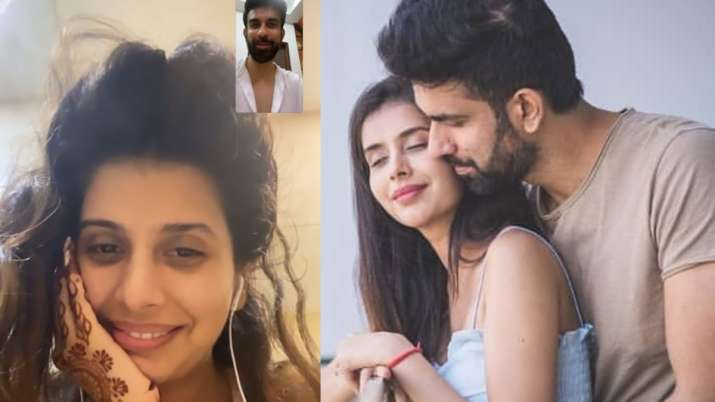 Rajeev Sen, wife Charu Asopa video call each other amid separation rumours