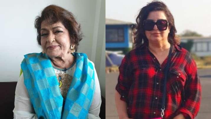 Farah Khan Remembers Legendary Choreographer Saroj Khan She Was An Inspiration To Many Celebrities News India Tv