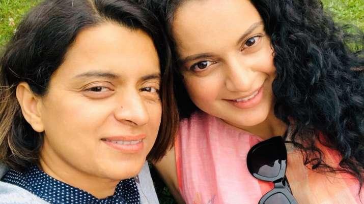 Kangana Ranaut's sister Rangoli Chandel thanks actress on Guru Purnima: You  never left my hand | Celebrities News – India TV