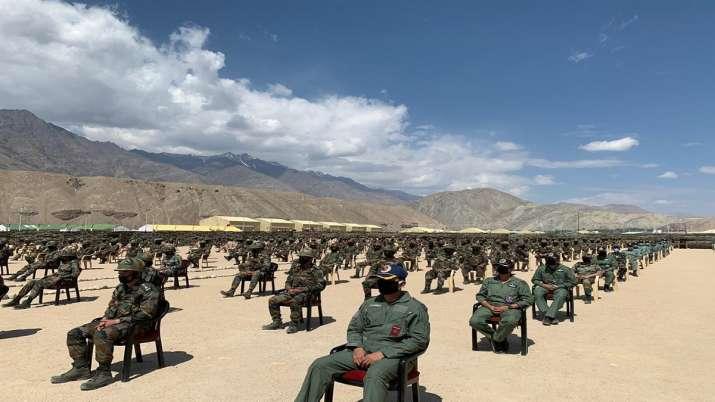 India Tv - PM Modi in Leh, Nimu, Ladakh, Indo China clash
