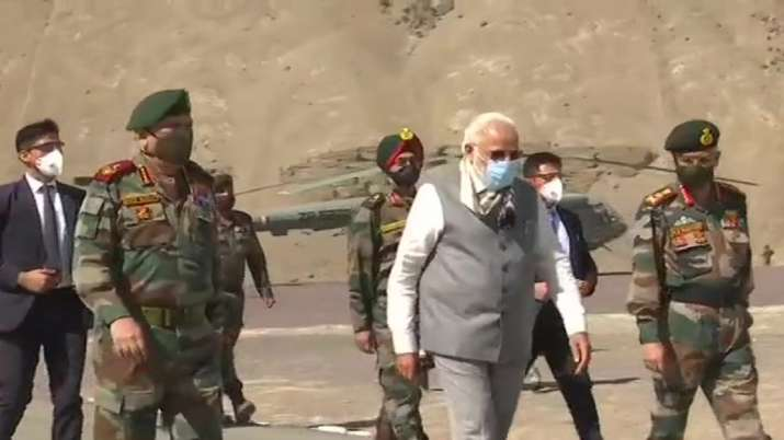 India Tv - PM Modi, Ladakh, Nimmoo