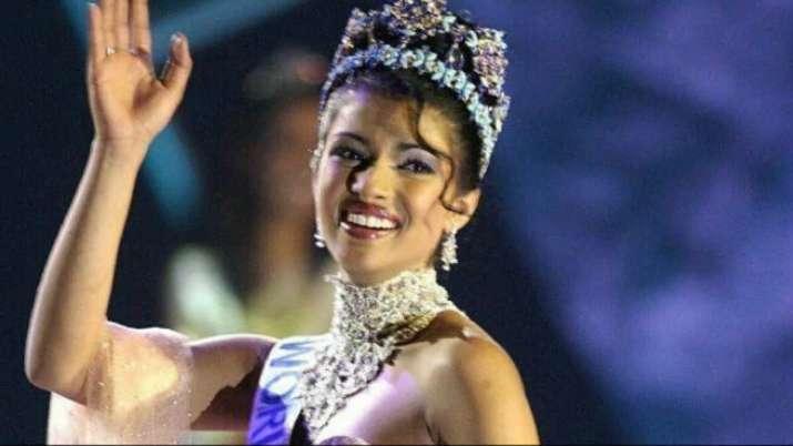 Priyanka Chopra recalls Miss India winning moment
