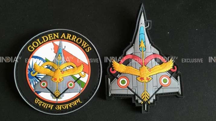 India Tv - Check out the patches specially designed for IAF warriors in Rafale fighter jets