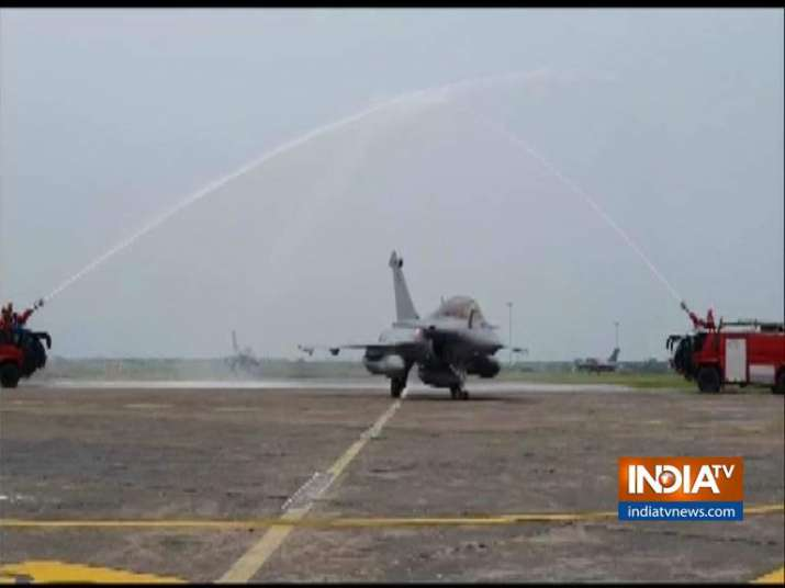 Rafale lands in India: Reactions pour in