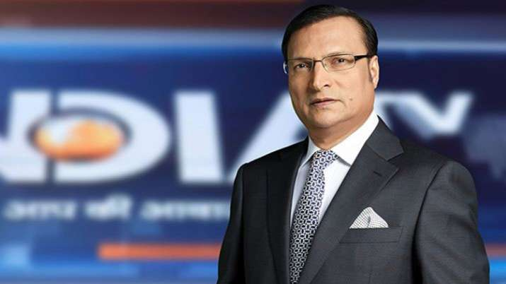 Rajat Sharma, India TV Chairman and Editor-in-Chief