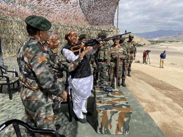 India Tv - Rajnath Singh, CDS, Bipin Rawat, MM Naravane, Army Chief, Indo China border issues