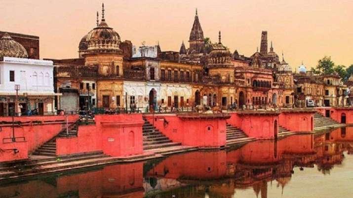 Shobha yatra to maha aarti on the ghats of Saryu: Ayodhya