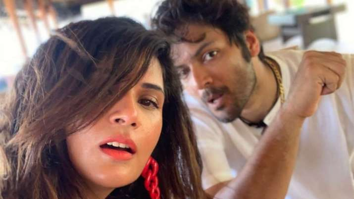 Richa Chadha, Ali Fazal's bridal cover photoshoot leave fans excited for their wedding