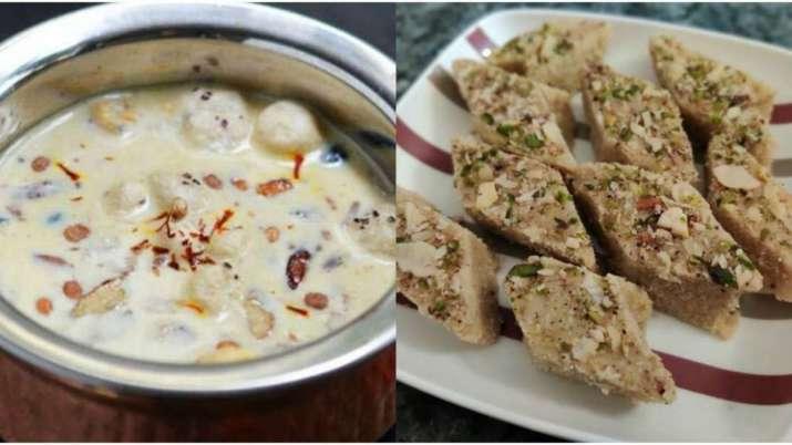 Sawan First Monday Fast: Make tasty makhana kheer and khoya barfi at home with these easy recipes