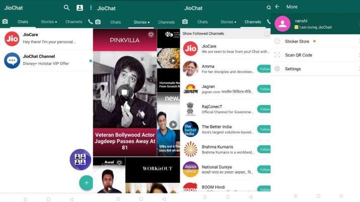 India Tv - jio, reliance jio, jio apps, apps, app, jiomeet, jiomeet video calling app, jiochat, jiochat messagi