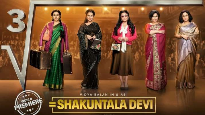 Fall in love with Vidya Balan in and as Shakuntala Devi. See new ...