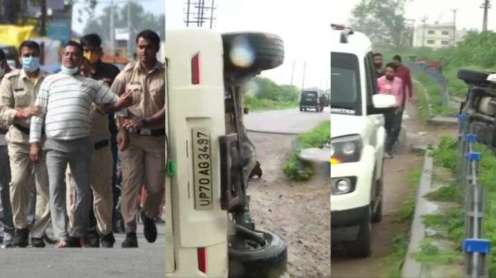India Tv - Vikas Dubey, Vikas dubey killed in encounter, Kanpur encounter case, Ujjain, Madhya Pradesh