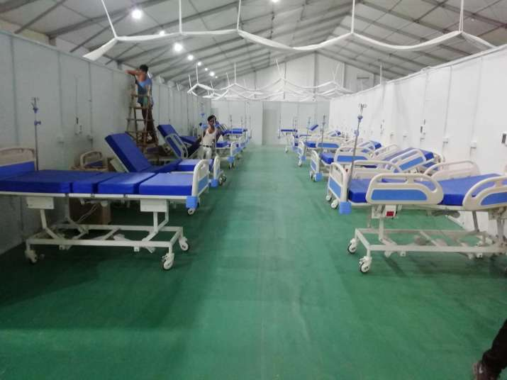 1000-bed dedicated COVID-19 hospital near Delhi airport to