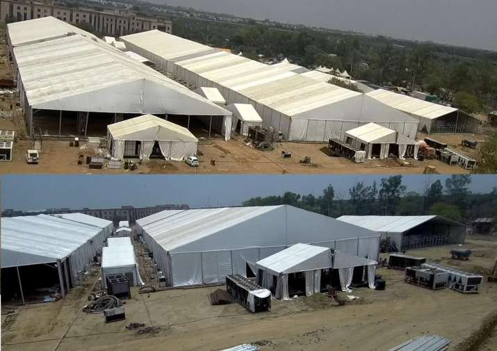 India Tv - 1000-bed dedicated COVID-19 hospital near Delhi airport to be inaugurated on Sunday