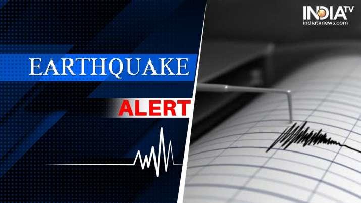 Magnitude-4.7 earthquake jolts North-Northwest of Kargil in Ladakh