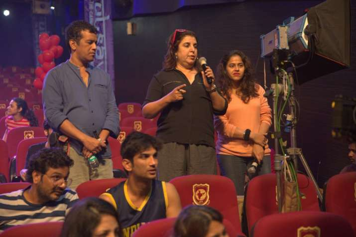 India Tv - Farah Khan shooting for Sushant Singh Rajput's last song Dil Bechara