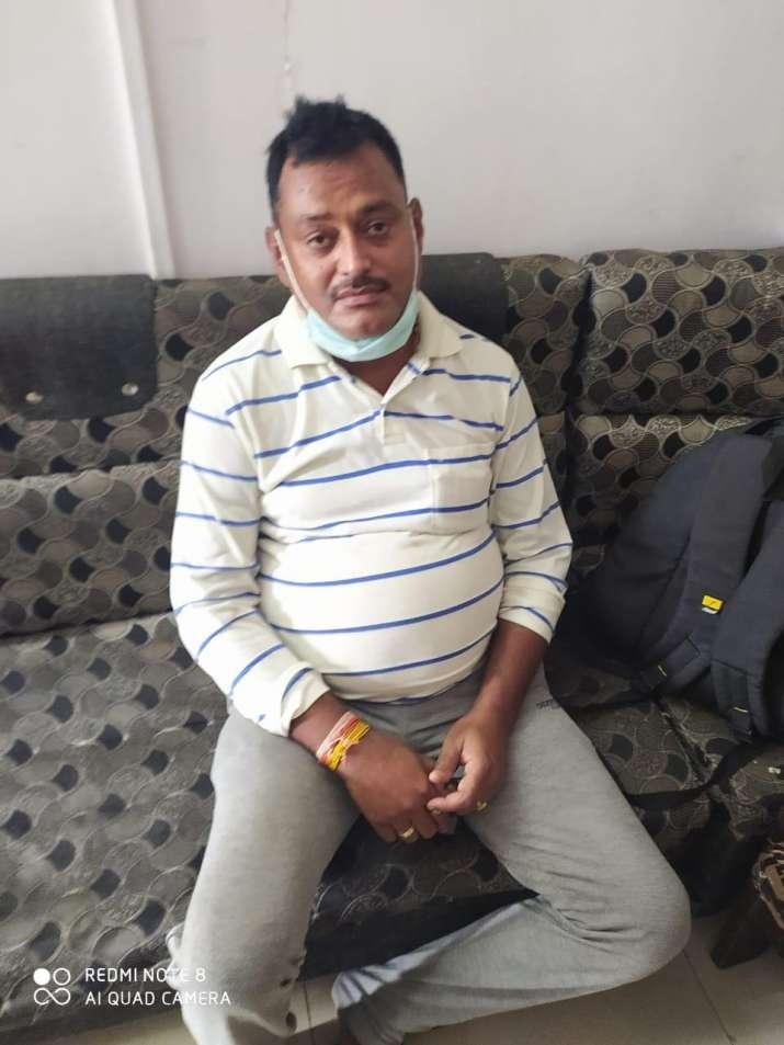 India Tv - Vikas Dubey's image after the arrest