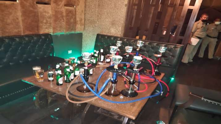 Delhi: FIR against 3 hookah bar joints in Rohini over violation of COVID-19 norms, 103 arrested