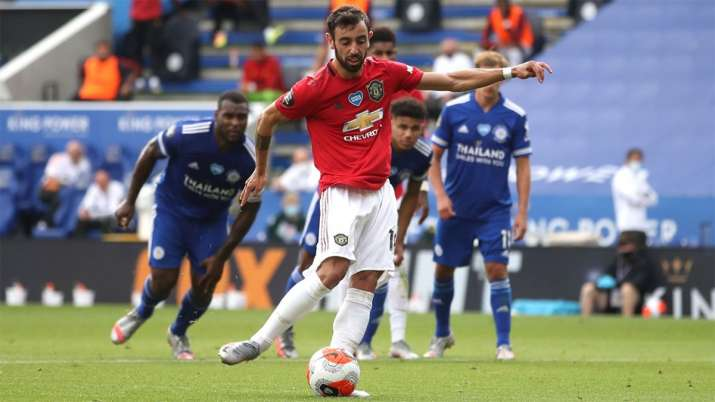 Jose Mourinho Takes Thinly Veiled Dig At Bruno Fernandes Manchester United Football News India Tv