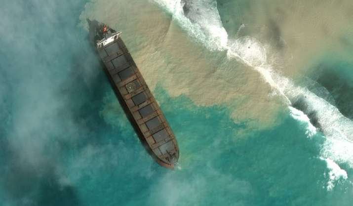 Mauritius declares 'state of environmental emergency' as stranded ship spills tons of fuel