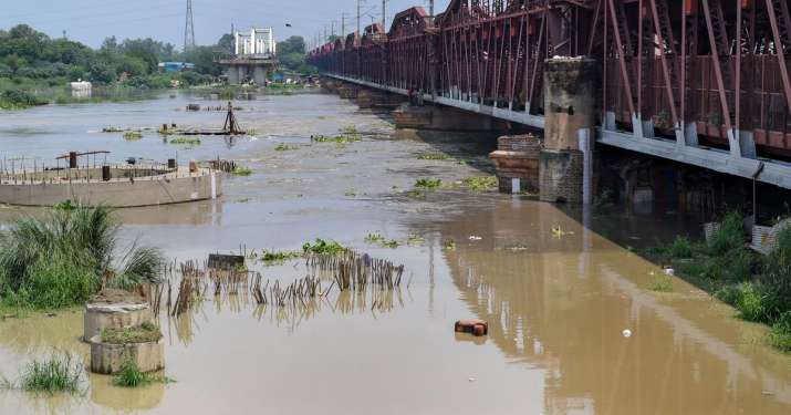 Yamuna water level