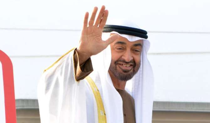 Sheikh Mohamed bin Zayed Al Nahyan, crown prince of Abu Dhabi, also congratulated the plant's openin