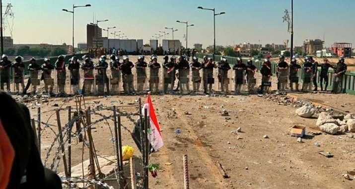 Baghdad airport rocket strike