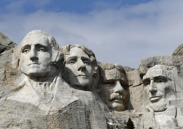 Trump denies reports about adding his face to Mount Rushmore