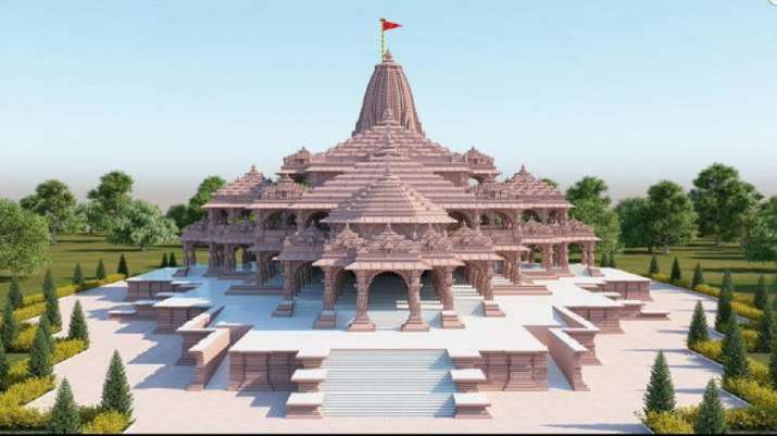 India Tv - Proposed model of Ram Janmbhoomi Mandir in Ayodhya
