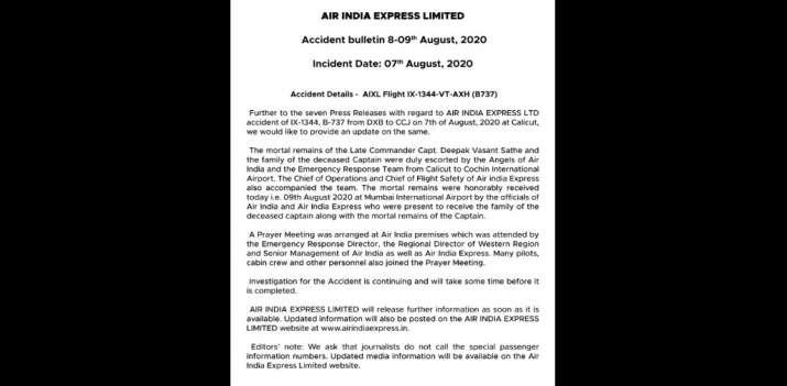 India Tv - Air India Express, Air India Express plane crash