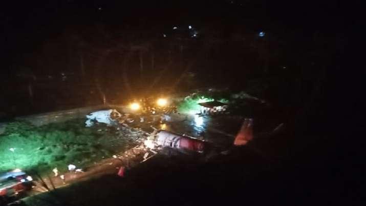 Pilot of Air India flight IX1344 killed as plane overshoots runway, splits into two