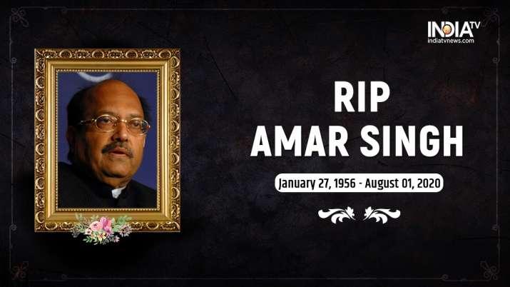 Amar Singh dies at 64