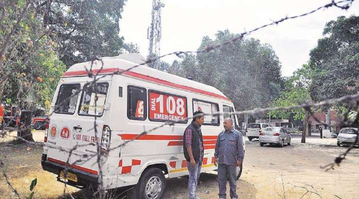 odisha ambulance driver lunch break
