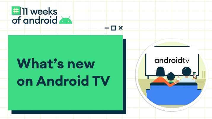 google, android, google android, android tv, android tv update, smart tv, new android tv features, a