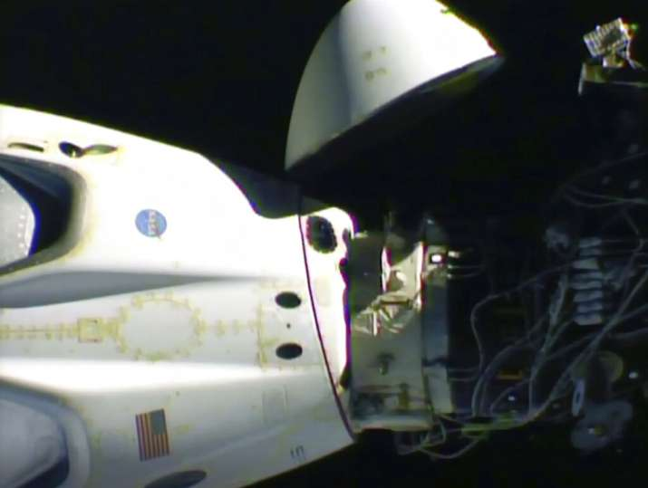 India Tv - SpaceX Dragon undocks from ISS; NASA astronauts returning home — Video