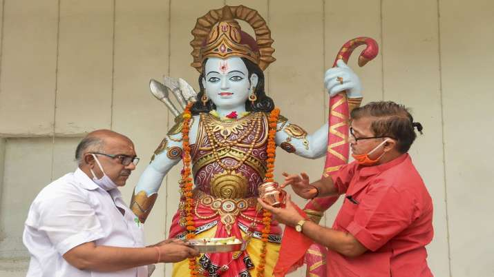 India Tv - Ram Mandir bhoomi pujan, Ram Temple groundbreaking, Ram Mandir Ayodhya