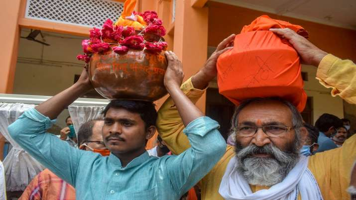 India Tv - Ram Mandir groundbreaking, Ram Temple, Prayagraj, Ayodhya, PM Modi
