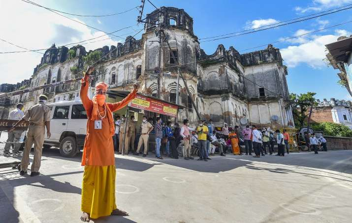 Trust for building mosque on five-acre land in Ayodhya in