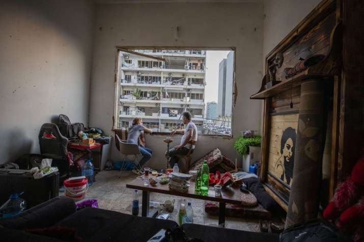 India Tv - Beirut blast Lebanon pictures
