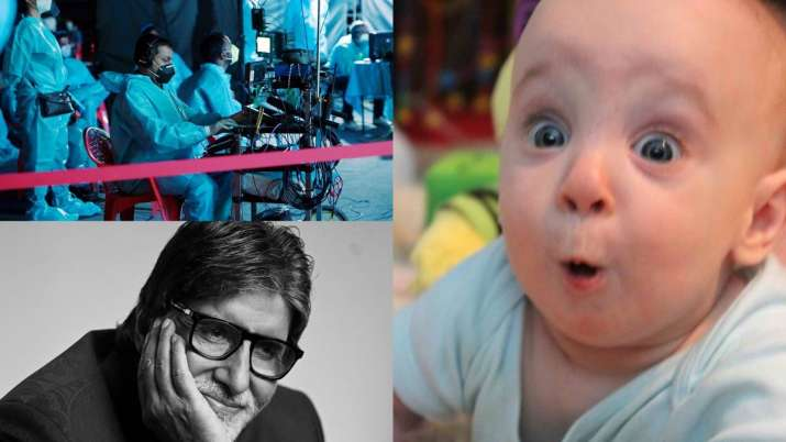 Dhyaan Se: Netizens react after Big B announces that he's shooting for 'KBC 12' after recovering fro