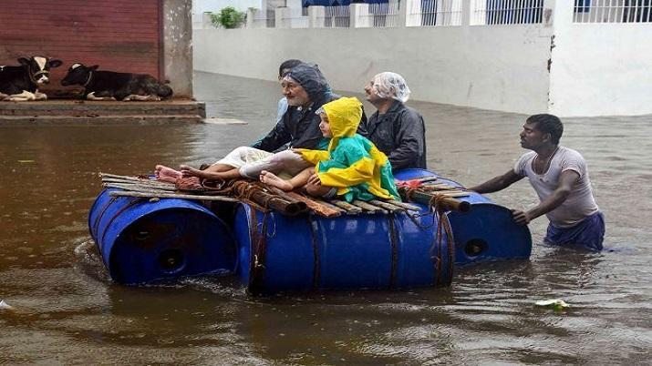 India Tv - Bihar Flood