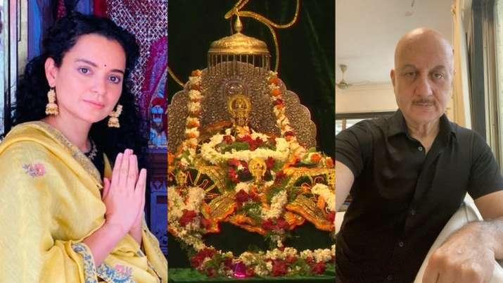 Ayodhya Ram Mandir Bhoomi Pujan: Anupam Kher, Kangana Ranaut and other B'town celebs express excitem