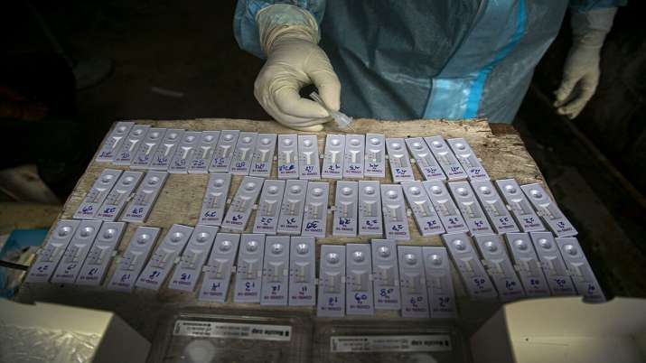 Coronavirus tests India, India daily corona tests