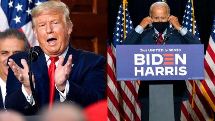 Donald Trump, Joe Biden, US presidential elections 2020