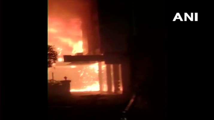 Fire breaks out in make shift COVID-19 facility in Vijaywada